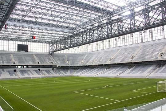Arena Da Baixada Atlético Paranaense Curitiba Brasil