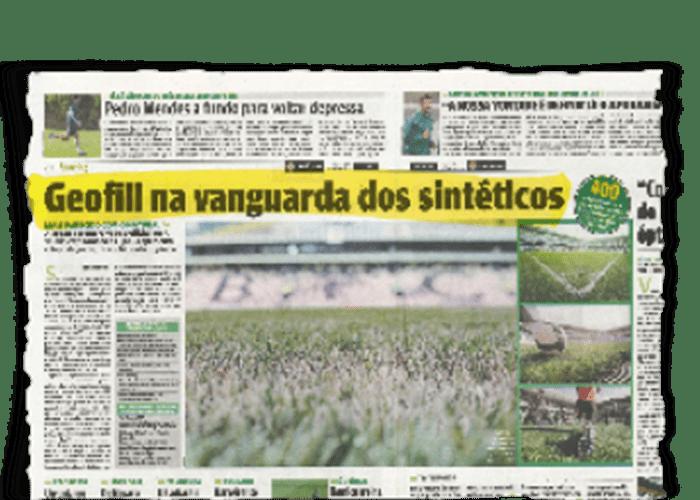 """GEOFILL na vanguarda do sintético"" – O JOGO – 2/11/2010"