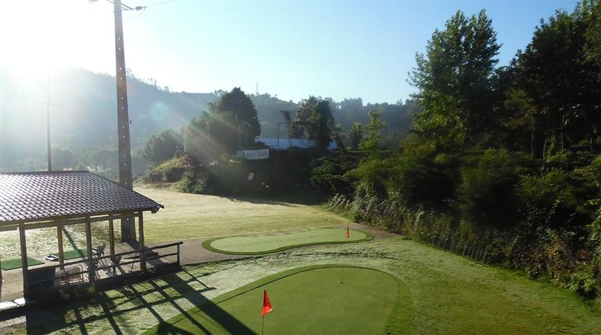 grama sintética open golfe