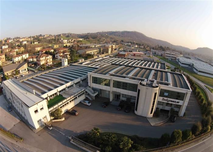 Sede Italgreen, fabricante de grama sintética desde 1980